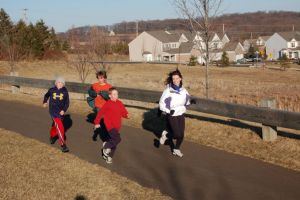 Bridge Valley runners